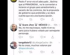 Tunden a Pedro Ferriz Hijar por criticar zapatos de #AMLO