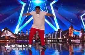 BGT 2019: INCREDIBLE Akshat Singh dances his way to Ant & Dec's GOLDEN BUZZER | Auditions |