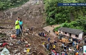 Suman 17 muertos por deslave en Cauca, Colombia