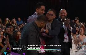 Premios Billboard 2019: 'Sobredosis' de Romeo Santos y Ozuna ganan Canción Tropical del Año