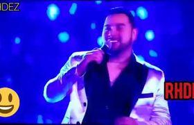 Banda MS cantando en premios Billboard 2019