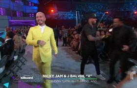 'X' de J Balvin y Nicky Jam gana Canción del Año Airplay