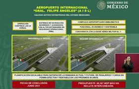 Así será el aeropuerto Felipe Ángeles de Santa Lucía