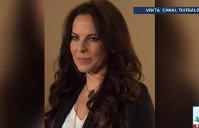 Kate del Castillo pide a ciudadanos exigir al gobierno de AMLO que cumpla