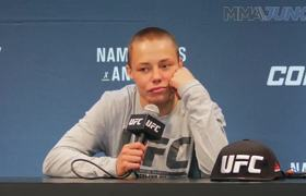 UFC 237: Rose Namajunas post-fight interview