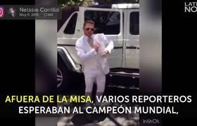 Saúl Álvarez celebró el bautizo de su único varón