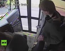 Bus driver's quick thinking saves student from imminent death