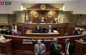 Alabama legislature votes to ban most abortions