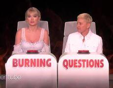 Ellen Show: Taylor Swift Answers Ellen's 'Burning Questions'
