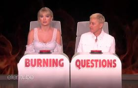 Ellen Show: Taylor Swift Answers Ellen's 'Burning Questions'