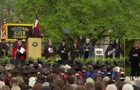Oprah delivers commencement speech