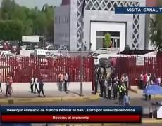 Desalojan el Palacio de Justicia Federal de San Lázaro por amenaza de bomba