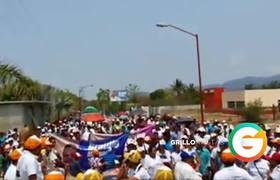 Era precandidato a Presidencia Municipal de Santa María Colotepec #Oaxaca