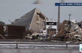 Fuerte tornado golpea a Oklahoma hay dos muertos
