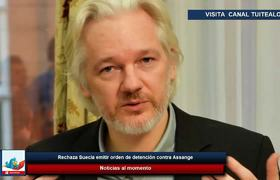 Rechaza Suecia emitir orden de detención contra Assange