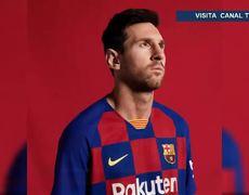 Barcelona presenta su nueva camiseta para la temporada 2019/2020
