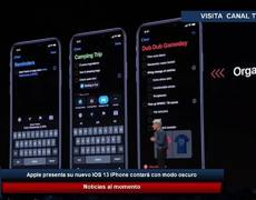 Apple presents its new iOS 13. iPhone will have dark mode