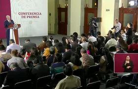 Conferencia de prensa de Andrés Manuel López Obrador