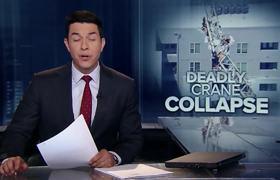 Crane collapses onto Dallas apartment building killing 1 person