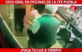 #VIRAL: Practican oral a directivo de CFE y queda grabado (Puebla)