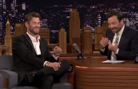 Chris Hemsworth Debuts Fat Thor Singing Johnny Cash