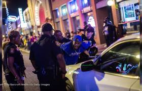 Two Dozen Police Hurt In Memphis