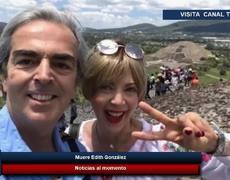 Lorenzo Lazo confirma la muerte de su esposa Edith González