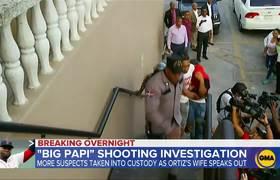 David Ortiz's wife speaks out as more suspects taken into custody