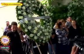 Así se vivió el funeral de Edith González