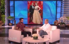 Ellen Show: Oprah Touched Kumail Nanjiani's Face