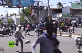 Haiti: At least 2 injured in clashes at anti-govt protest in Port-au-Prince