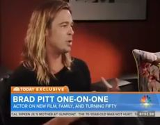 Today Show Brad Pitt Interview 16102013