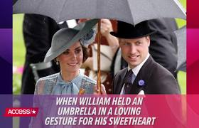 See Prince William & Kate Middleton Share A Rare Public Display Of Affection