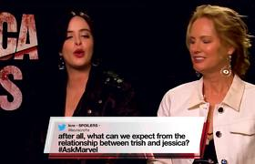 Marvel's Jessica Jones cast answers YOUR questions!