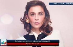 Ilse Salas le gana Ariel como mejor actriz a Yalitza Aparicio