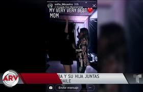 Angélica Rivera reapareció bailando con su hija Sofía