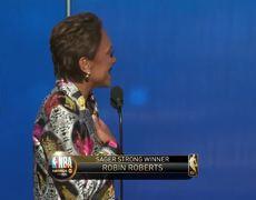 Robin Roberts Receives the Sager Strong Award | 2019 NBA Awards