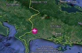 Sismo sacude frontera de Costa Rica y Panamá