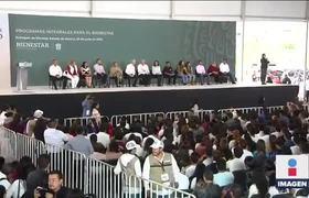 Abuchean al gobernador del Edomex en evento de AMLO en Ecatepec