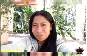 Yalitza Aparicio confiesa que le está costando estudiar inglés