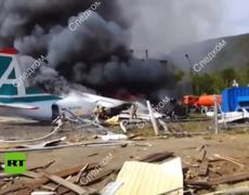 Russia: Two killed, 9 injured as Russian plane makes emergency landing in Buryatia