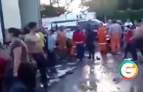 Migrantes rescatados por Marinos en Veracruz