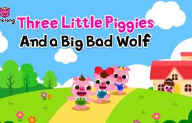 Three Little Piggies And a Big Bad Wolf | Baby Piggy Songs