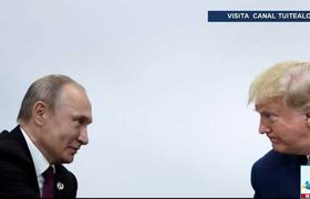 Trump jokes and asks Putin not to interfere in the elections of 2020