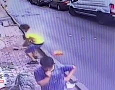 #HERO: 2-Year-Old Girl Caught by Teen After Falling Out Window