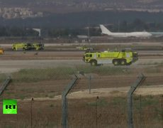 Alerta en el aeropuerto más grande de Israel en anticipación a un aterrizaje de emergencia