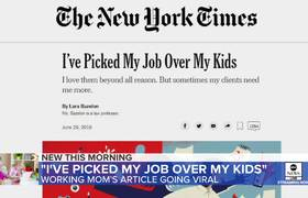 Viral opinion piece by mom who prioritizes work over motherhood sparks debate