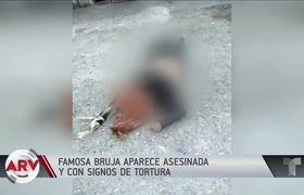 Torturan y ejecutan a la Bruja Ma Memije en México