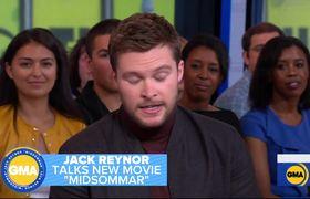 Jack Reynor dishes on new thriller 'Midsommar'