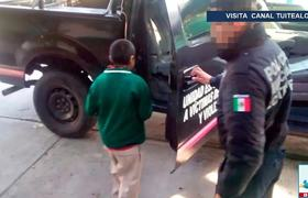 Rescatan a niño que tenían encadenado en Ecatepec